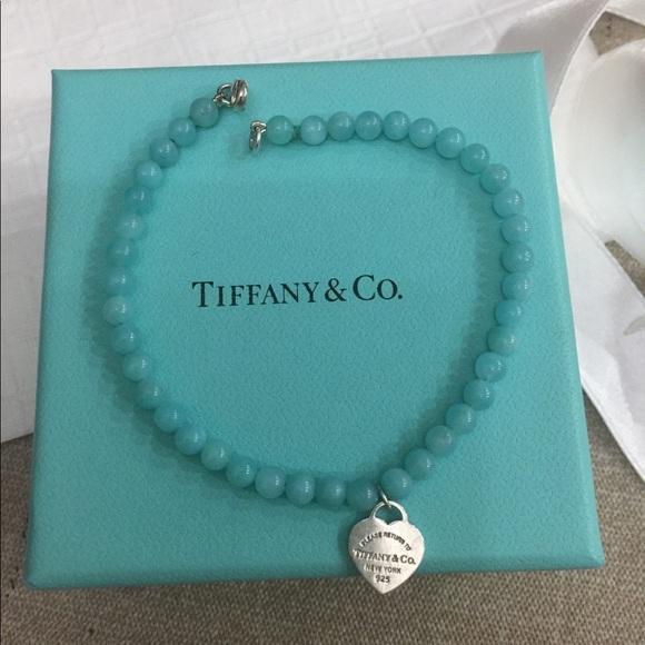 c31e829b5a2c Tiffany   Co. Amazonite Bracelet. M 5aaf328cb7f72b62aa5d5619